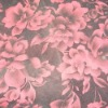 Silk nylon flock garment fabric