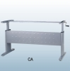 Manual Height Adjustable Office Table Frame