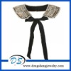 handmad pearl beads white lady chic embellished collar