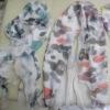 Fashionable Newest plain silk scarf