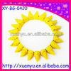 fashion accessory western ornaments pencil point shaped yellow stone bracelet