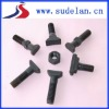 Various T-bolts of railroad track parts