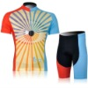 2012 MONTON Vision Of Cycling Jersey + Red And Blue +Short Suit