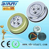 3 led round touch push light ST-901