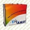 Promotional Tote Bag, 100% RPET, Made of Printed OPP Film Laminated with PP Woven Fabric