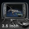 """2012 newest 3.5"""" rear view camera with 2AV video input"""