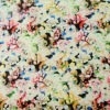 50D floral printed satin chiffon textile for ladies' dress