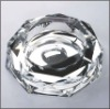 economic crystal ashtray