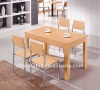 modern wood dining table set