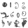 decorative wrought iron ornamental