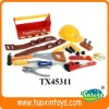 Boy's plastic toy tool box set (19pcs)
