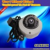 Vandal-proof Dome PLC IR IP Camera
