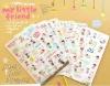 sweet cartoon sticker/festival sticker for kids