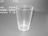 Zibo Timestone 7oz High Quality Clear Wine Glass Cup