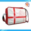 Red PU games leisure bag sports bag