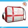 Red PU games leisure bag sports bag