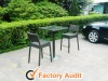 wicker bar stools and tables