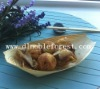 Dipsosable Food Container -- Wooden Boat