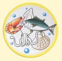 melamine sushi plate