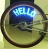 Led Bike Spoke Light 2011 fashion design