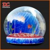 Beautiful Super Large Sea World Cartoon Xmas Inflatable Snow Globe