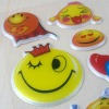 PVC giltter mobile decor bubble sticker