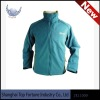 Mens slim soft shell jacket