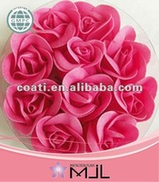 Colorful Bubble Red Rose Bath Confetti Suppliers