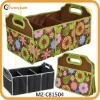 new arrival fashion printed folding car trunk organiser