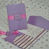 EA949--DIY ! Pocketfold Wedding Invitation