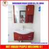 China Mirrored Mdf Panel Bathroom Cabinets