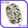 THE stainless steel men ring with relatively sawtooth