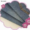 100% cotton weft slub denim(YRD-1245)