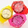 fashion silicone lady watch 2012 new style