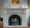 Marble carving-fireplace(LF0047)