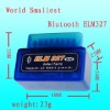 Alibaba& Aliexpress hot selling professional universal diagnostic scanner---- Mini ELM327 V1.5 USB OBD2 OBDII CAN