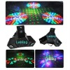 3 Claw LED laser disco light