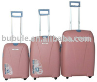 100%pp trolley luggages