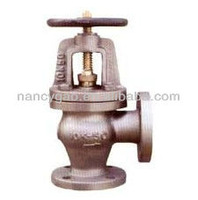 JIS Marine Cast Iron Screw down check angle valve JIS F7378 16K