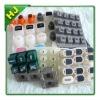 Foldable silicone keypads