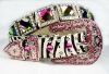 2011 new style fashion rhinestone belt,Fashion Skinny Western Rhinestone Belts Woman,ladies snake pu rhinestone belts lead free