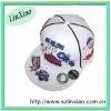 100% acrylic flat bill baseball cap