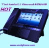 "Hot Selling 7"" inch touch Screen Sip Video Phone"