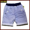 blue and white spot printing children pants boys trousers kids pants