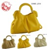 goldfish high quality PU PVC leather handbags