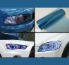 popular car headlight film 0.3x10m/roll blue color