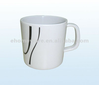 western style melamine cup