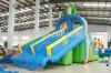 frog water slide inflatable water slide