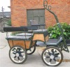 US style comfortable marathon horse carriage with big six seats
