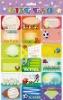 Calendar Memo Pad Sticker